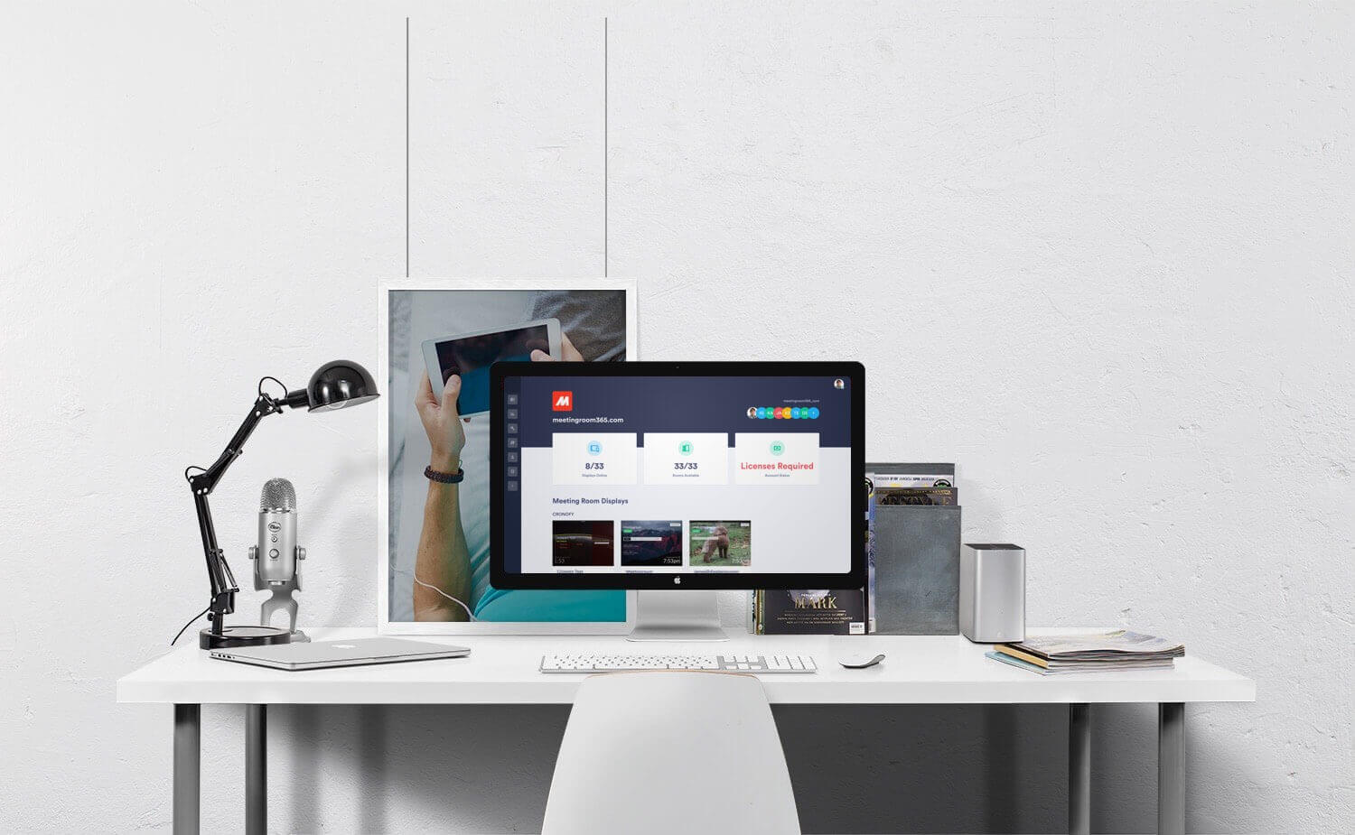 Meeting Room Display software for Office 365, Microsoft
